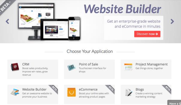 OpenERP Website !